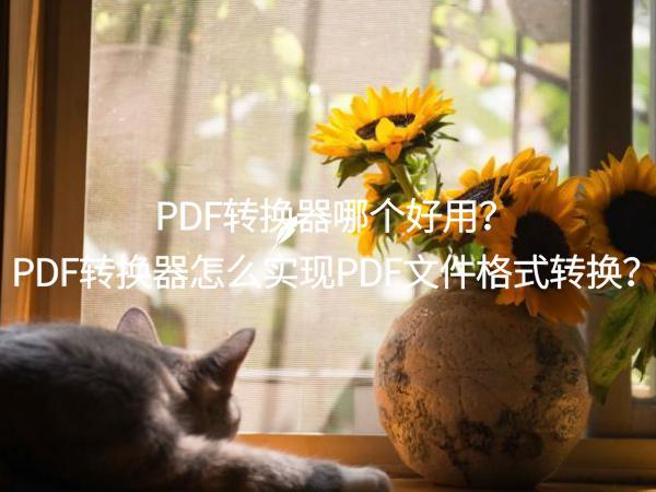 PDF转换器哪个好用?PDF转换器怎么实现PDF文件格式转换?