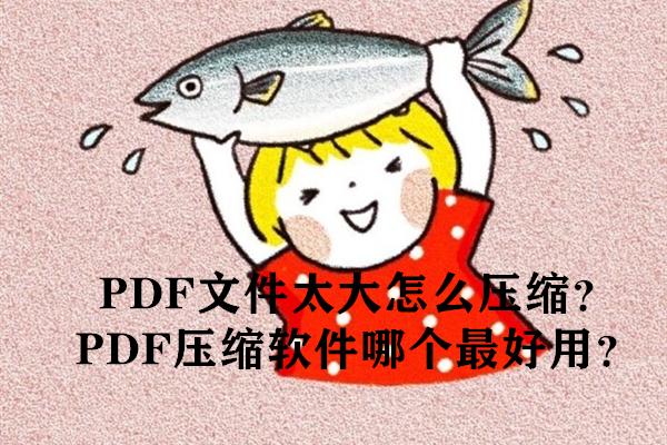PDF文件太大怎么压缩?PDF压缩软件哪个最好用?