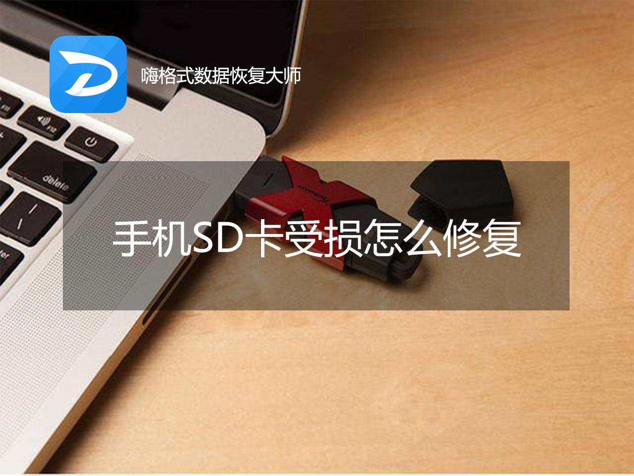 手机SD卡受损怎么修复?教你一招恢复